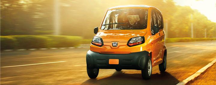 Самый дешевый автомобиль в России Bajaj Qute