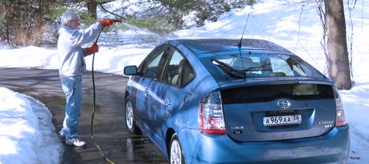 5 правил мойки автомобиля зимой